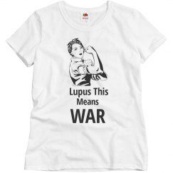 Lupus This Means War