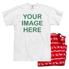 Custom Image Christmas Pajamas