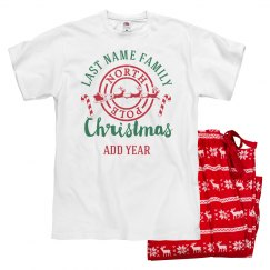 Personalized Family Christmas PJs