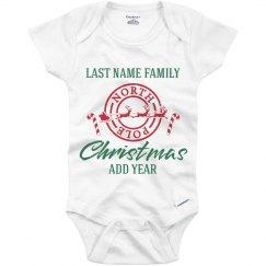 Matching Christmas Pajamas For Baby