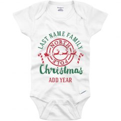 Matching Christmas Pajamas For Baby