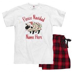 Fleece Navidad Custom Pajamas