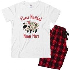 Fleece Navidad Christmas Pajamas