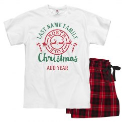 Custom Family Holiday Jammies