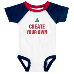 Infant Vintage Raglan Bodysuit