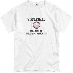 Wiffle Ball Life Too Short grey