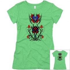 Tribal Butterfly Flourish