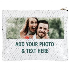 Custom Couple Sequin Bag