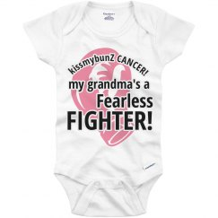 Kids Breast Cancer Onesie