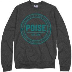 Poise Unisex Crew Neck Sweater