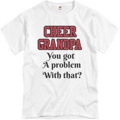 Cheer Grandpa Tee