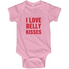 Belly Kisses Onesie