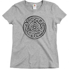 Hecate's Wheel Design Ladies Tee