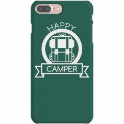 Happy Camper Badge Phone Case