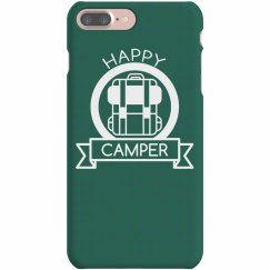 Happy Camper Badge Phone Case