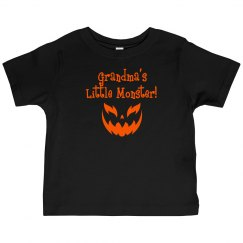 Halloween Toddler Shirt - G-Ma Monster