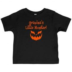 Halloween Toddler Shirt - G-Ma Monster