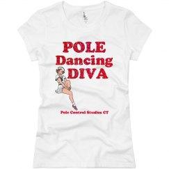 Pole Dance Diva pinup