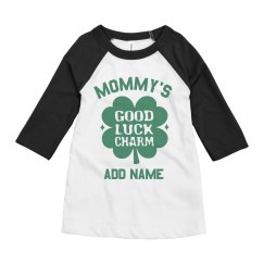 Mommy's Luck Charm Custom Kids Name