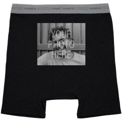 Add A Photo To These Boxers!