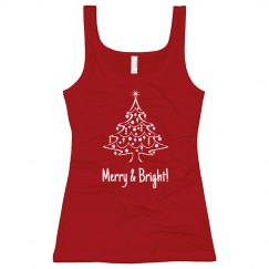 Adult Size Merry & Bright T-shirt