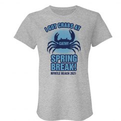 I Got Crabs Spring Break