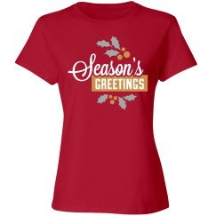 Seasons Greetings Tee