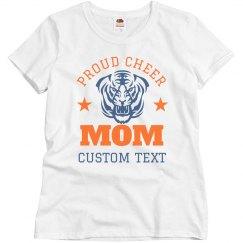 Proud Cheer Mom Custom Mascot