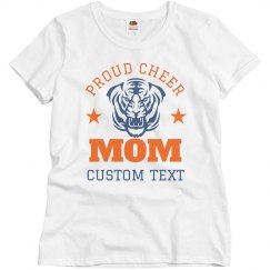 Proud Cheer Mom Custom Mascot