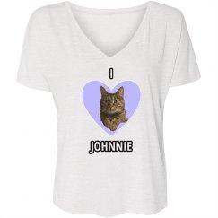 I Heart Johnnie black ink
