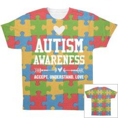 Autism Awareness All Over Print