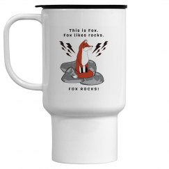 Fox Rocks Travel Mug