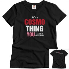 Cosmo Thing Black T