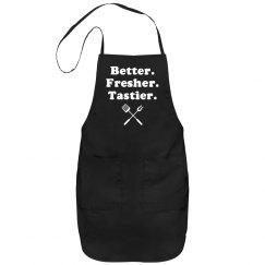 Better. Fresher. Tastier.