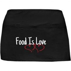 Food Is Love Apron