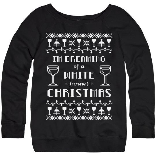 Wine Christmas Sweater.Ugly Sweater Wine Drinker