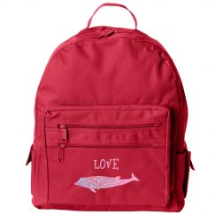 Love Dolphins Backpack