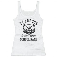 Custom Mascot Yearbook Tank