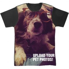 Custom All Over Print Pet Shirt