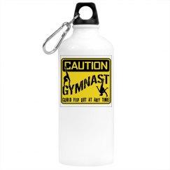 Gymnastics water bottle