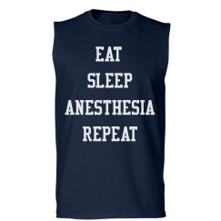 Unisex Tank- EAT. SLEEP. ANESTHESIA. REPEAT