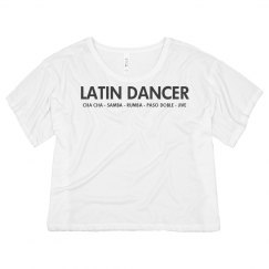Latin Dancer Ballroom Shirt