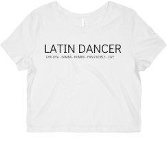 Latin Dancer Ballroom Shirt