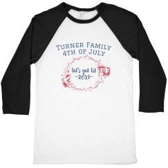 Family Fourth of July Custom