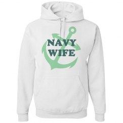 Navy Wife Hoodie