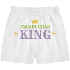 Simple Mardi Gras King