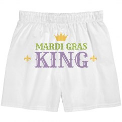 Simple Mardi Gras King