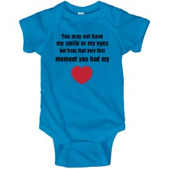 adoption onesie