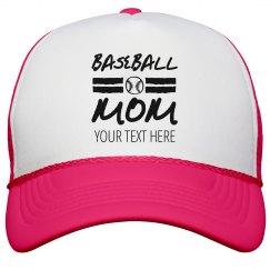 Trendy Baseball Mom Trucker Hat