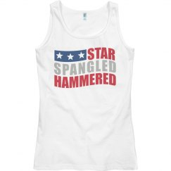 Spangled Hammered Tank